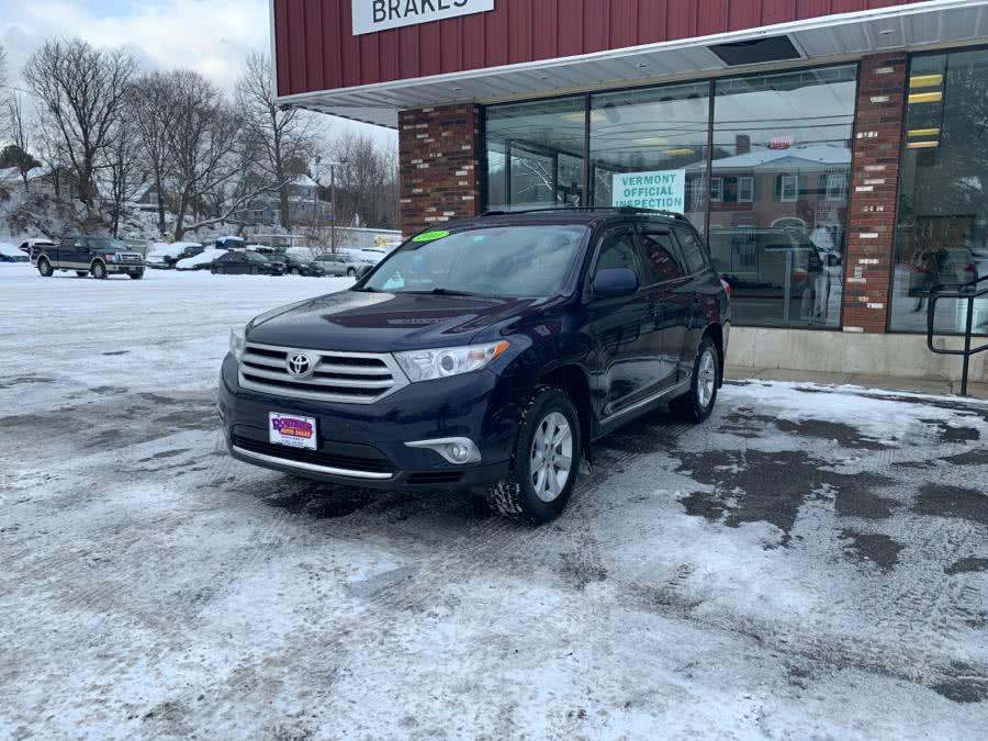 Used 2013 Toyota Highlander in Barre, Vermont | Routhier Auto Center. Barre, Vermont