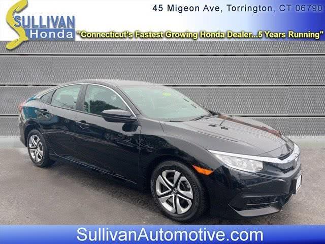 Used Honda Civic LX 2017   Sullivan Automotive Group. Avon, Connecticut