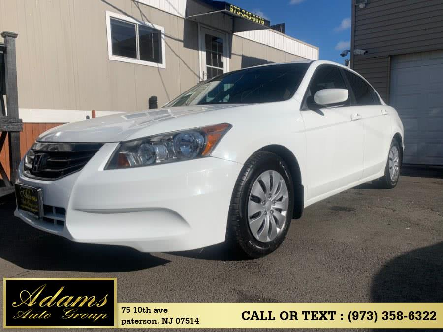 Used 2012 Honda Accord Sdn in Paterson, New Jersey | Adams Auto Group. Paterson, New Jersey