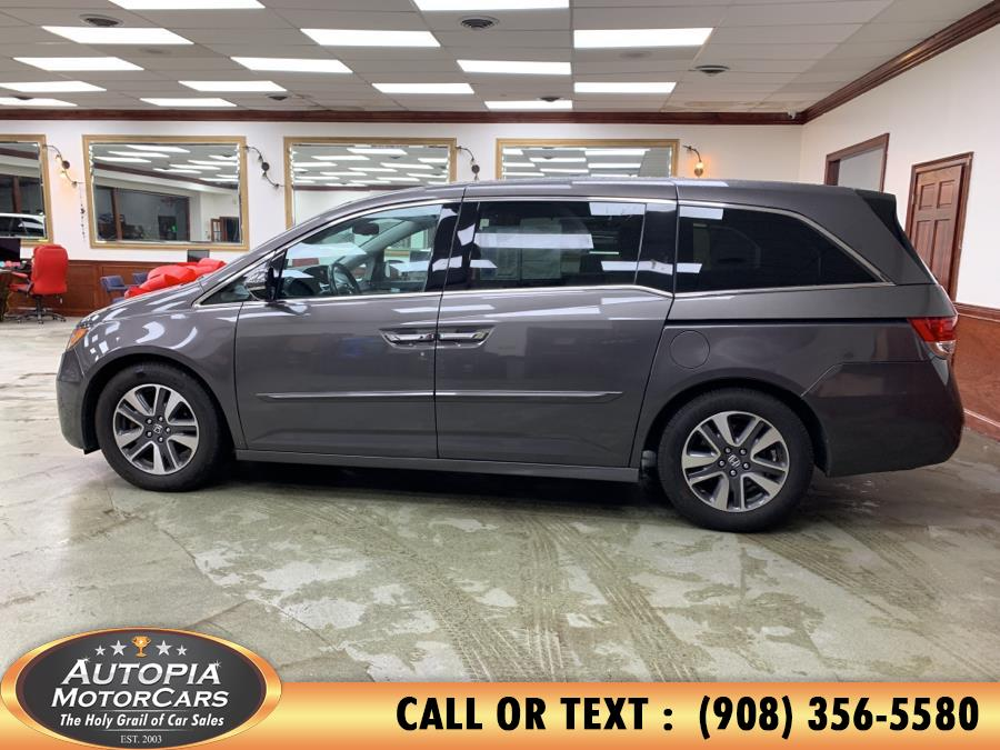2015 Honda Odyssey 5dr Touring Elite, available for sale in Union, New Jersey | Autopia Motorcars Inc. Union, New Jersey
