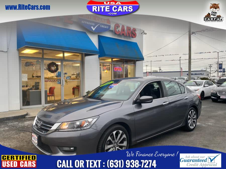 Used 2014 Honda Accord Sedan in Lindenhurst, New York | Rite Cars, Inc. Lindenhurst, New York