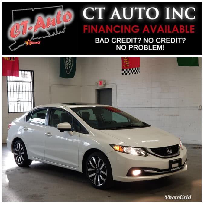 Used Honda Civic Sedan EX-L 2015 | CT Auto. Bridgeport, Connecticut