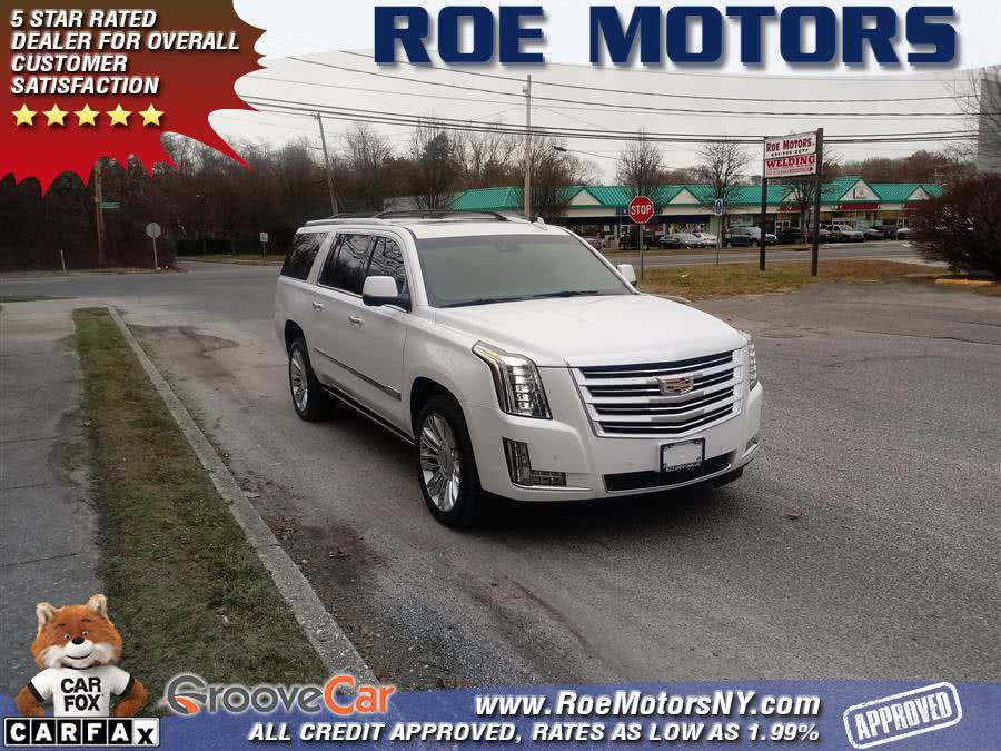 Used 2016 Cadillac Escalade ESV in Shirley, New York | Roe Motors Ltd. Shirley, New York
