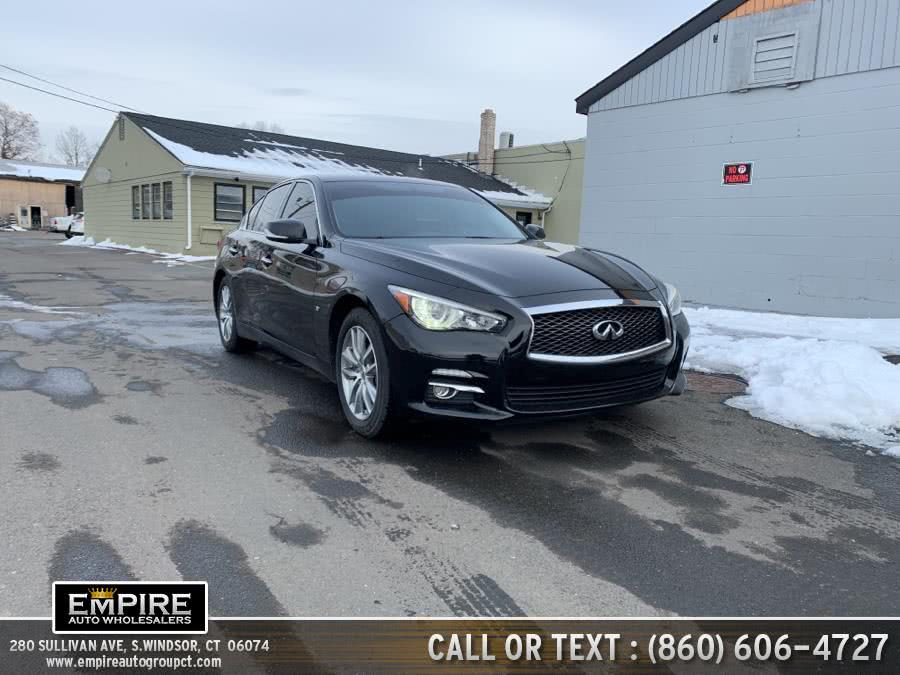 Used Infiniti Q50 4dr Sdn Sport AWD 2015 | Empire Auto Wholesalers. S.Windsor, Connecticut