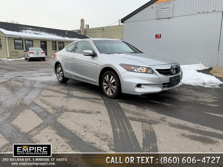 Used 2012 Honda Accord Cpe in S.Windsor, Connecticut | Empire Auto Wholesalers. S.Windsor, Connecticut