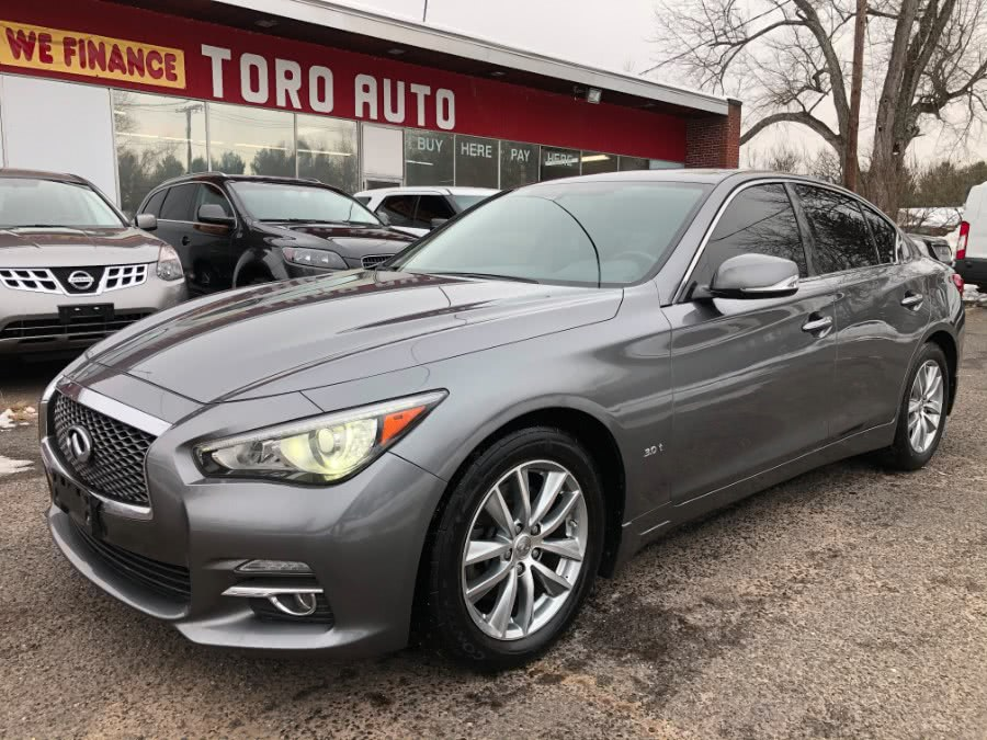 Used 2016 INFINITI Q50 in East Windsor, Connecticut | Toro Auto. East Windsor, Connecticut