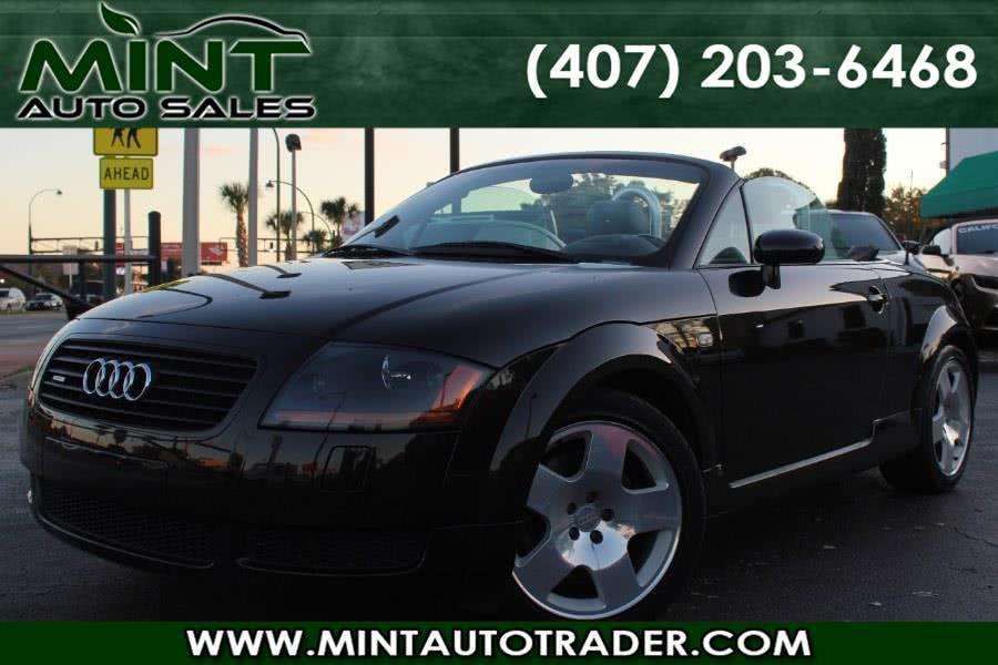 Used 2002 Audi TT in Orlando, Florida | Mint Auto Sales. Orlando, Florida