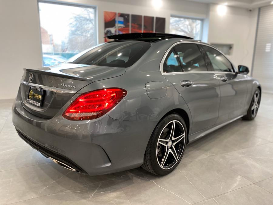 2017 Mercedes-Benz C-Class C 300 4MATIC Sedan with Sport Pkg, available for sale in Franklin Square, New York | Luxury Motor Club. Franklin Square, New York