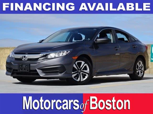 Used 2017 Honda Civic Sedan in Newton, Massachusetts | Motorcars of Boston. Newton, Massachusetts
