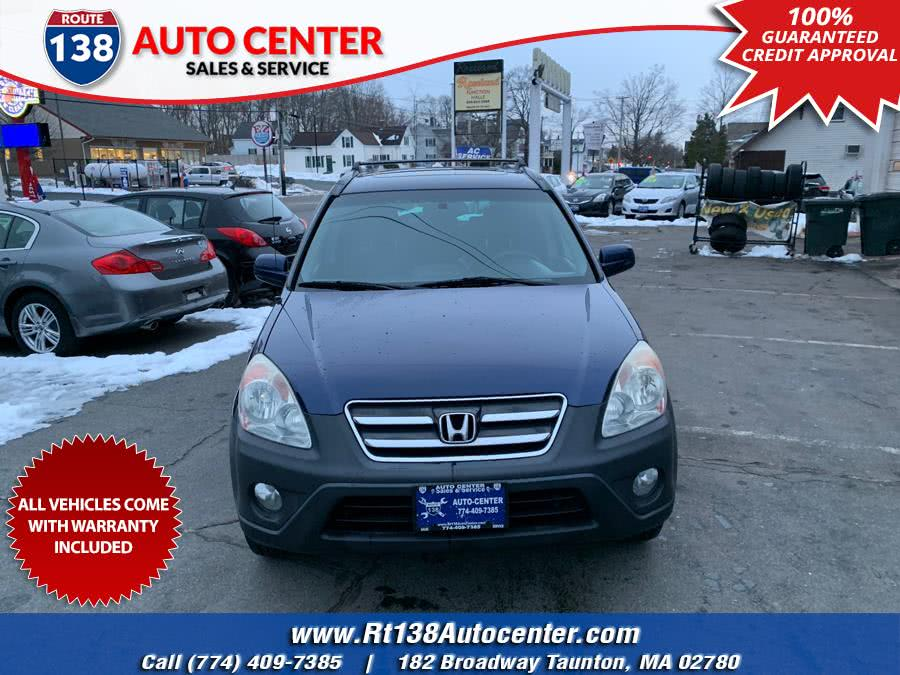 Used 2005 Honda CR-V in Taunton, Massachusetts | Rt 138 Auto Center Inc . Taunton, Massachusetts