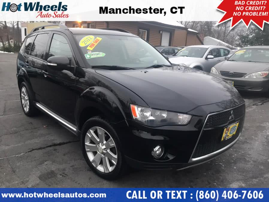 Used 2012 Mitsubishi Outlander in Manchester, Connecticut | Hot Wheels Auto Sales LLC. Manchester, Connecticut