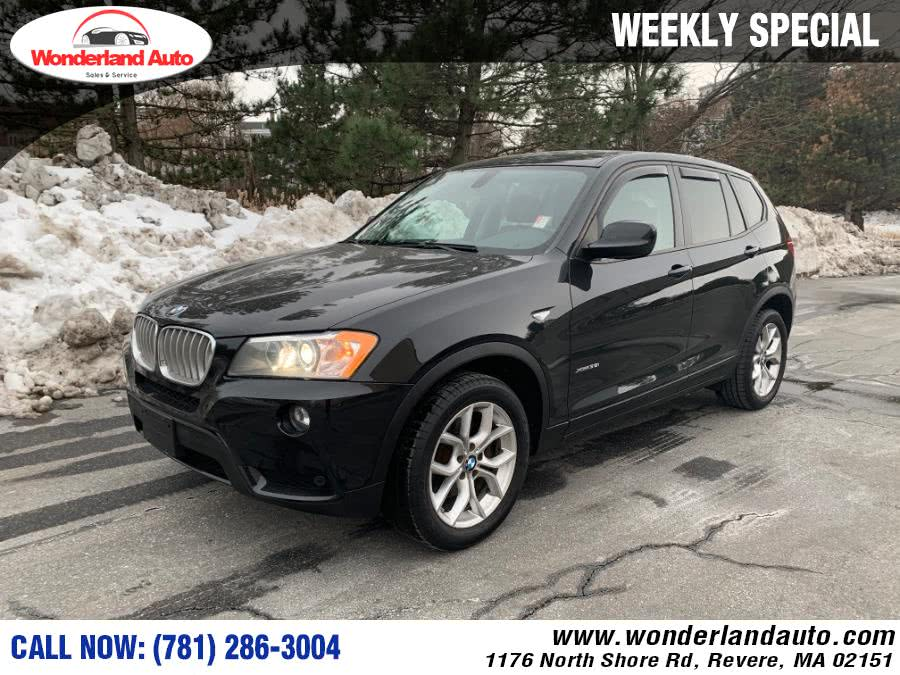 Used 2013 BMW X3 in Revere, Massachusetts | Wonderland Auto. Revere, Massachusetts