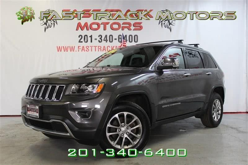 Used Jeep Grand Cherokee LIMITED 2015 | Fast Track Motors. Paterson, New Jersey