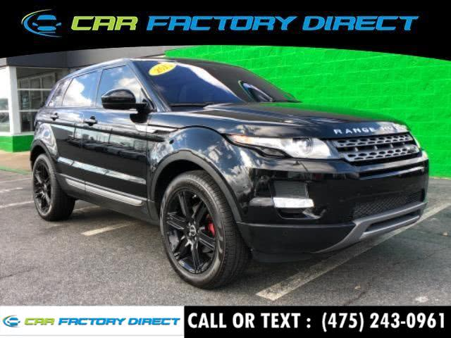 2015 Land Rover Range Rover Evoque Pure Plus Navigation awd, available for sale in Milford, Connecticut | Car Factory Direct. Milford, Connecticut