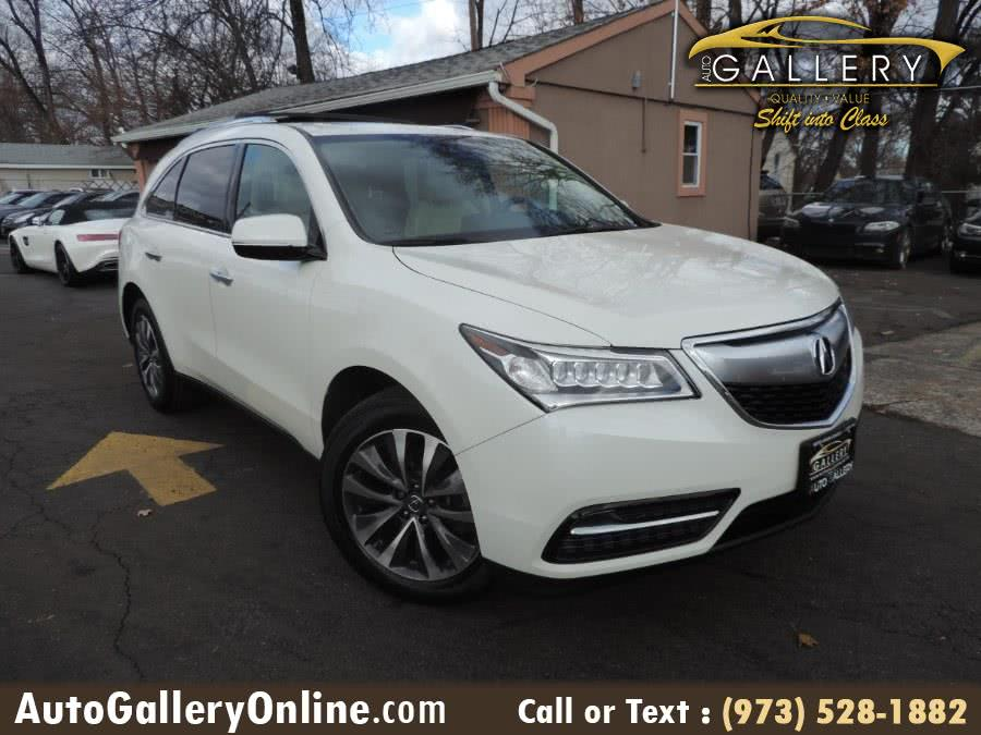 Used 2016 Acura MDX in Lodi, New Jersey | Auto Gallery. Lodi, New Jersey
