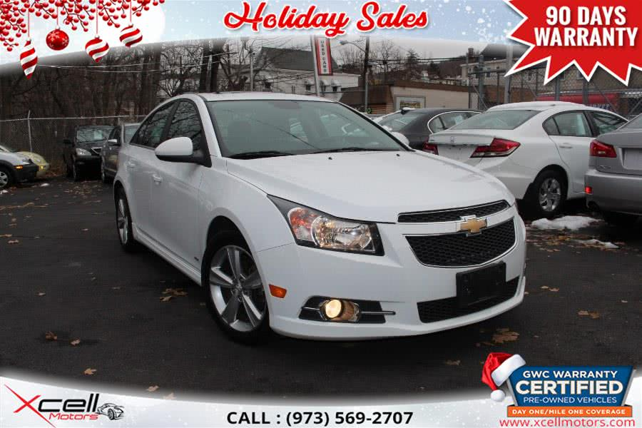 Used Chevrolet Cruze 4dr Sdn Auto 2LT 2014 | Xcell Motors LLC. Paterson, New Jersey