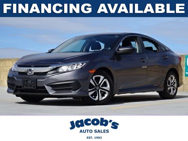 Used Honda Civic Sedan LX CVT 2017 | Jacob Auto Sales. Newton, Massachusetts