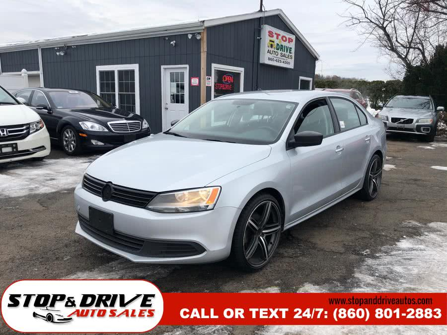 2014 Volkswagen Jetta Sedan 4dr Auto S, available for sale in East Windsor, Connecticut | Stop & Drive Auto Sales. East Windsor, Connecticut