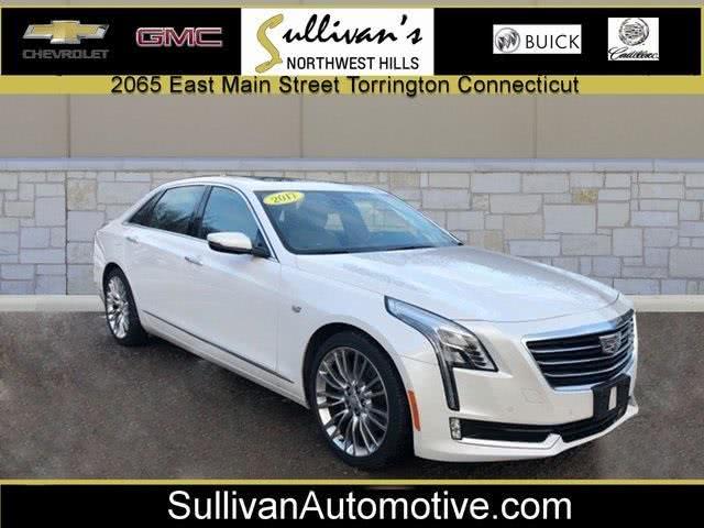 Used Cadillac Ct6 3.0L Twin Turbo Premium Luxury 2017 | Sullivan Automotive Group. Avon, Connecticut