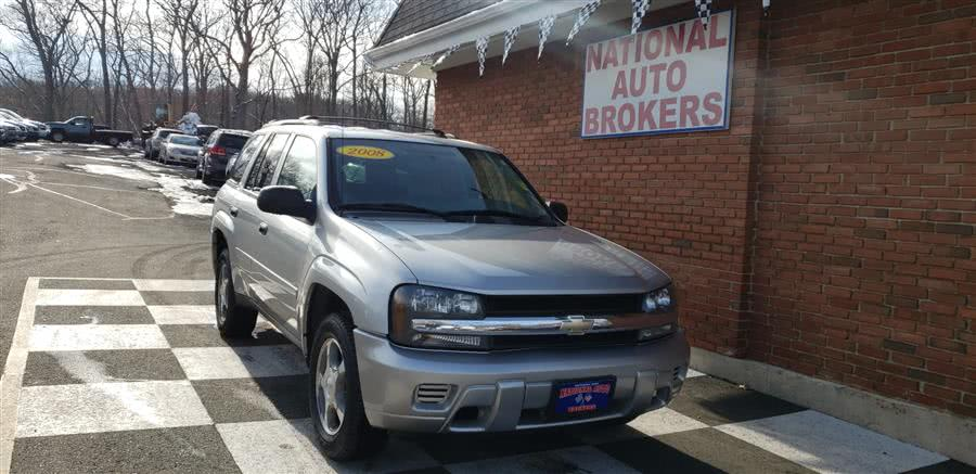 Used Chevrolet TrailBlazer 4WD 4dr LT 2008 | National Auto Brokers, Inc.. Waterbury, Connecticut