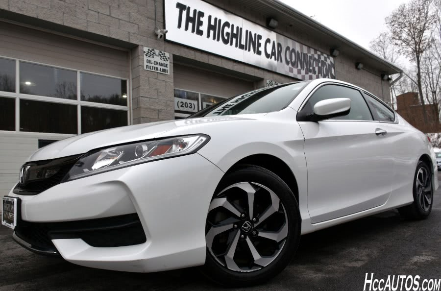 Used 2016 Honda Accord Coupe in Waterbury, Connecticut | Highline Car Connection. Waterbury, Connecticut