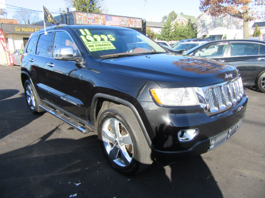 2011 Jeep Grand Cherokee 4WD 4dr Overland Summit, available for sale in Little Ferry, New Jersey | Royalty Auto Sales. Little Ferry, New Jersey