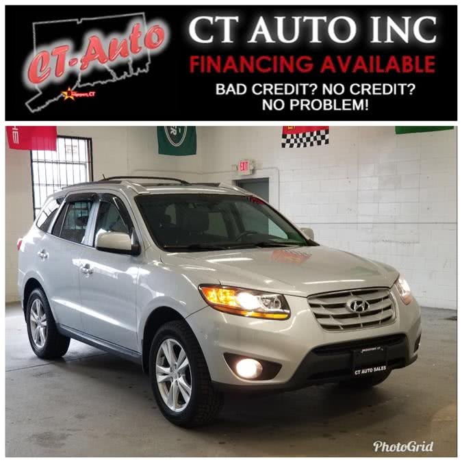 Used Hyundai Santa Fe AWD 4dr V6 Auto Limited 2010 | CT Auto. Bridgeport, Connecticut