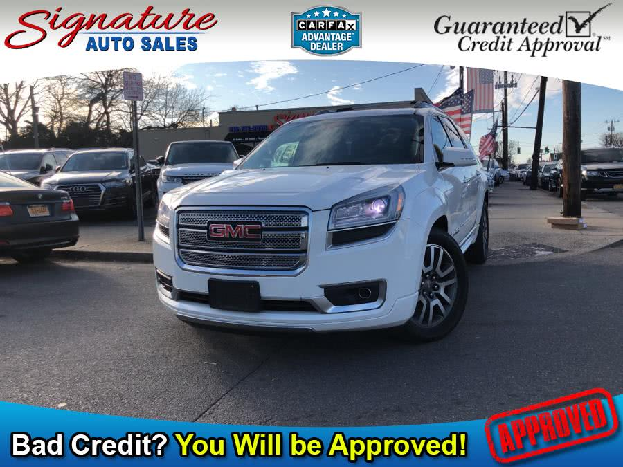 Used 2014 GMC Acadia in Franklin Square, New York | Signature Auto Sales. Franklin Square, New York