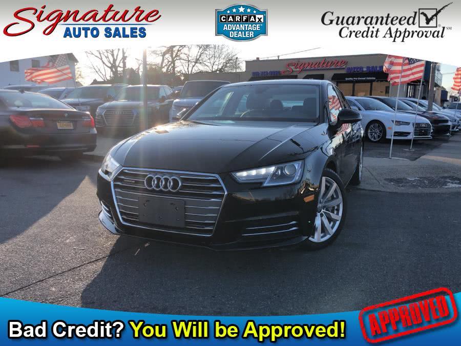 Used 2017 Audi A4 in Franklin Square, New York | Signature Auto Sales. Franklin Square, New York