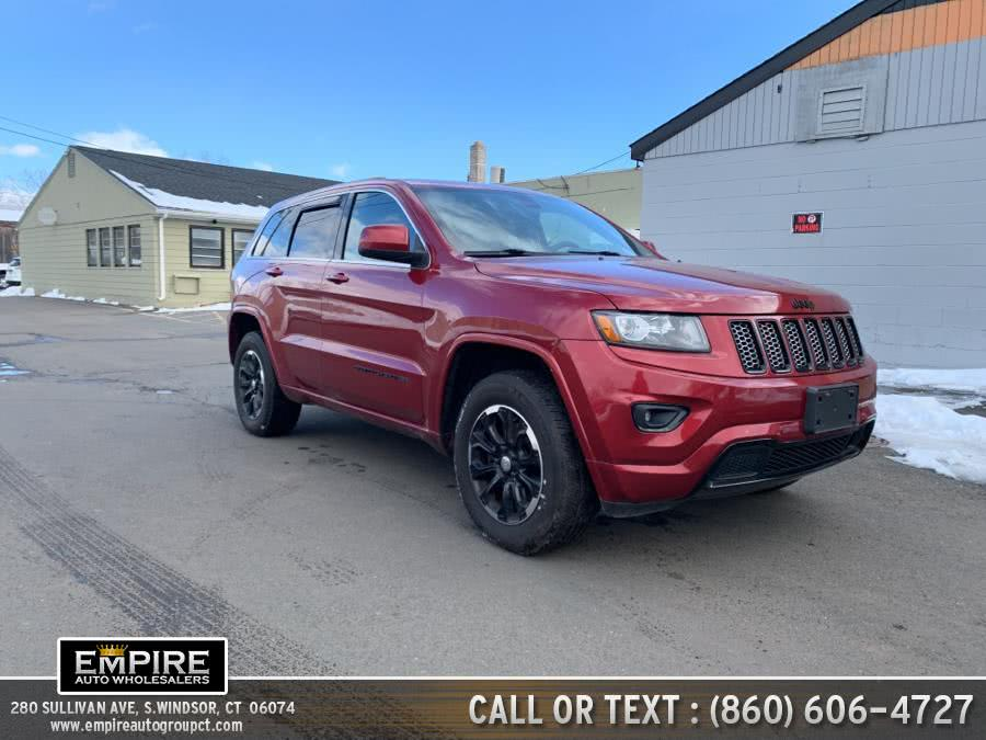 Used Jeep Grand Cherokee 4WD 4dr Laredo 2015 | Empire Auto Wholesalers. S.Windsor, Connecticut