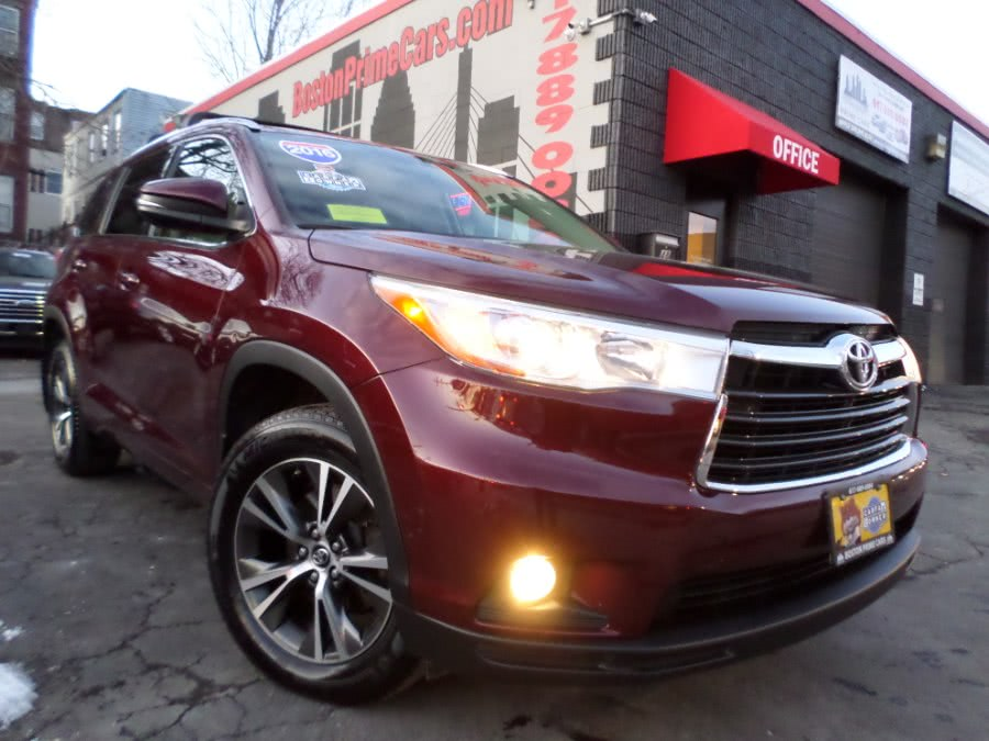 Used 2016 Toyota Highlander in Chelsea, Massachusetts | Boston Prime Cars Inc. Chelsea, Massachusetts
