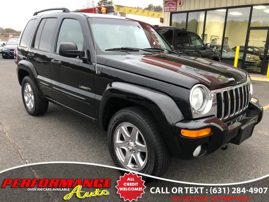 Used Jeep Liberty 4dr Limited 4WD 2004 | Performance Auto Inc. Bohemia, New York