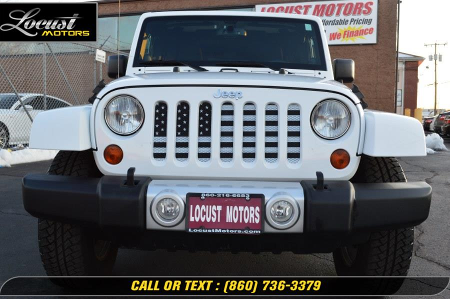 2013 Jeep Wrangler Unlimited 4WD 4dr Sahara, available for sale in Hartford, Connecticut | Locust Motors LLC. Hartford, Connecticut