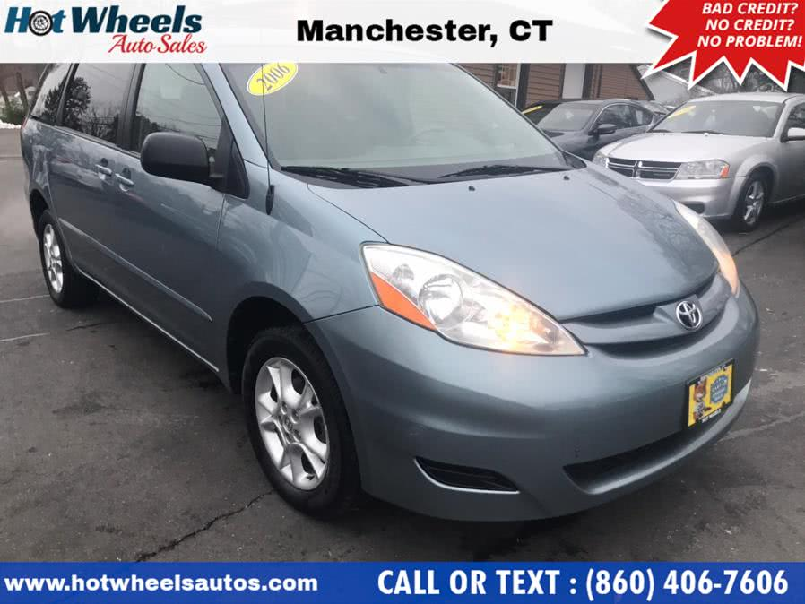Used Toyota Sienna 5dr LE AWD 2006 | Hot Wheels Auto Sales LLC. Manchester, Connecticut