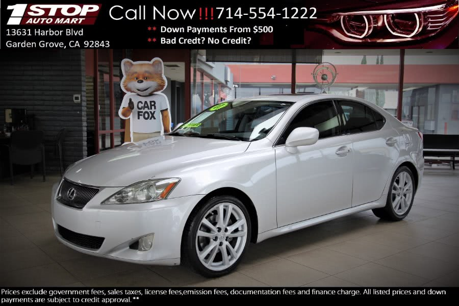 Used 2007 Lexus IS 250 in Garden Grove, California | 1 Stop Auto Mart Inc.. Garden Grove, California