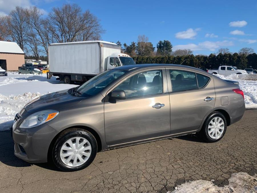 2013 Nissan Versa 4dr Sdn Auto 1.6 S, available for sale in East Windsor, Connecticut | A1 Auto Sale LLC. East Windsor, Connecticut