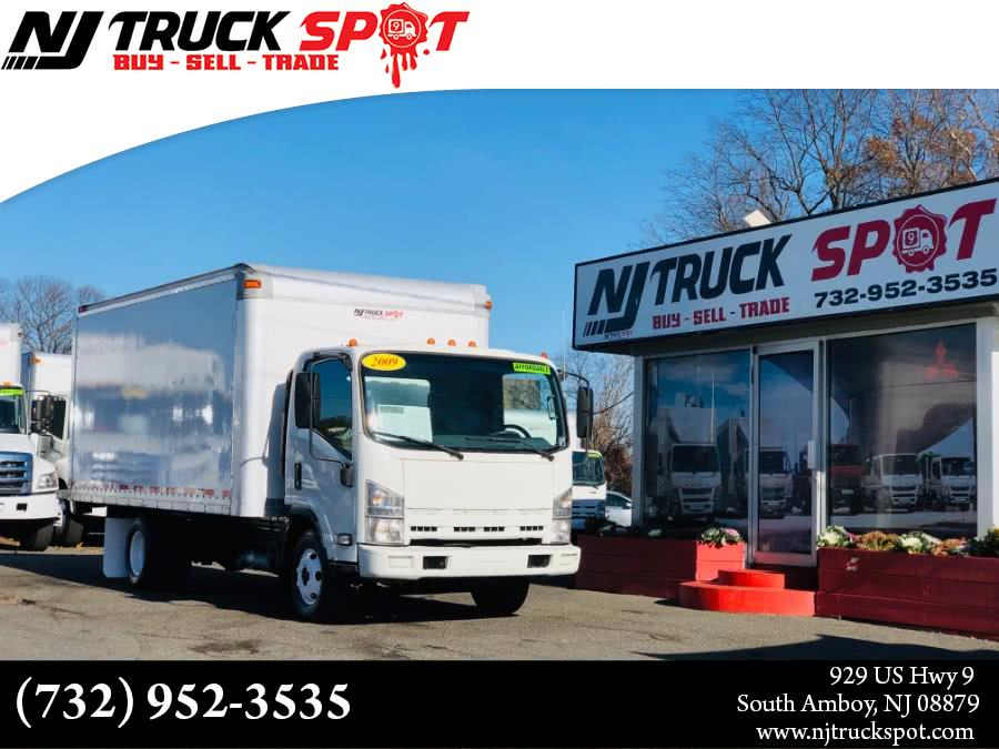 Used Isuzu NPR 16 FEET DRY BOX 2009 | NJ Truck Spot. South Amboy, New Jersey