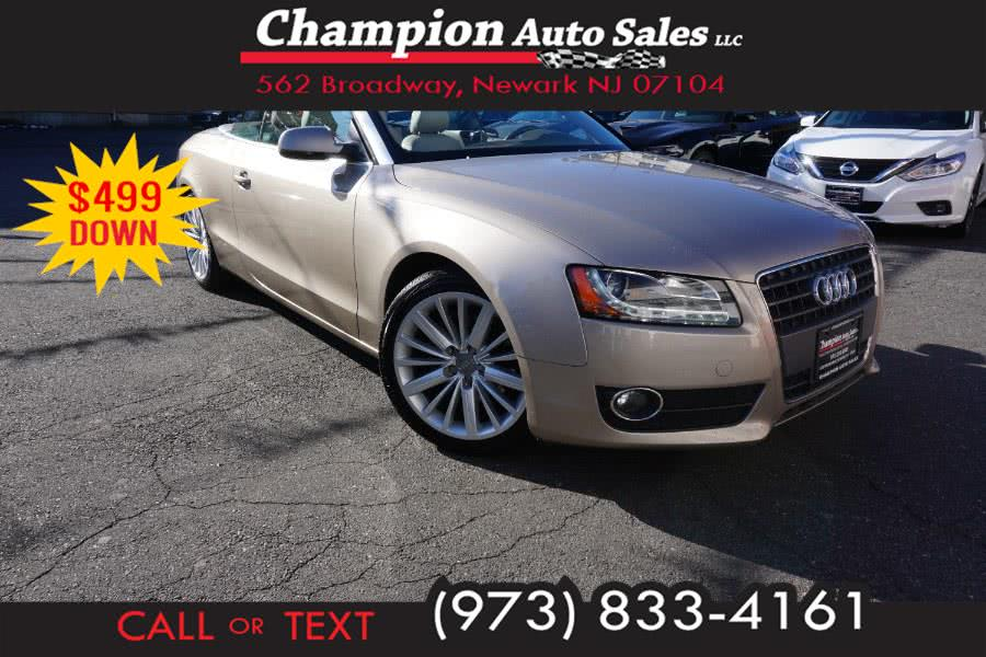 Used 2011 Audi A5 in Newark , New Jersey | Champion Used Auto Sales 2. Newark , New Jersey