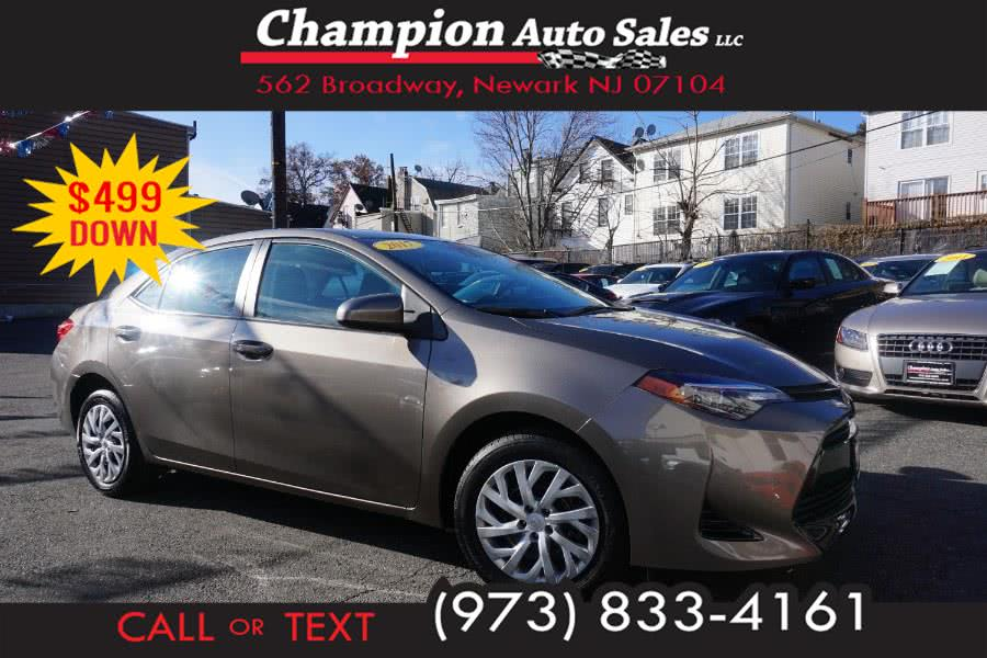 Used 2017 Toyota Corolla in Newark , New Jersey | Champion Used Auto Sales 2. Newark , New Jersey
