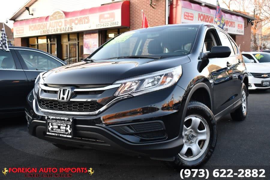 Used Honda CR-V AWD 5dr LX 2016 | Foreign Auto Imports. Irvington, New Jersey