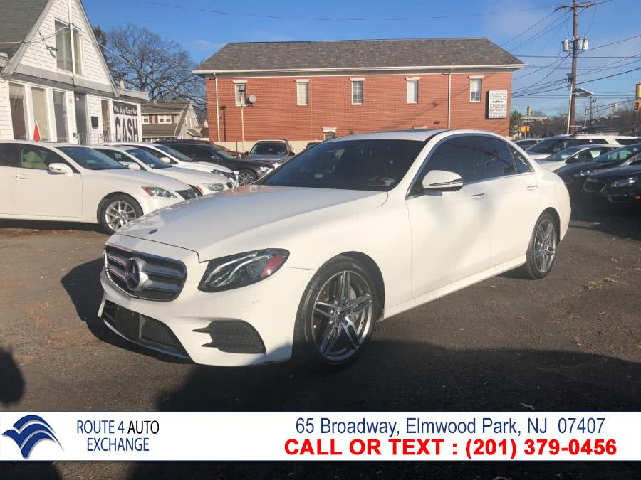 Used Mercedes-Benz E-Class E 450 4MATIC Sedan 2019 | Route 4 Auto Exchange. Elmwood Park, New Jersey