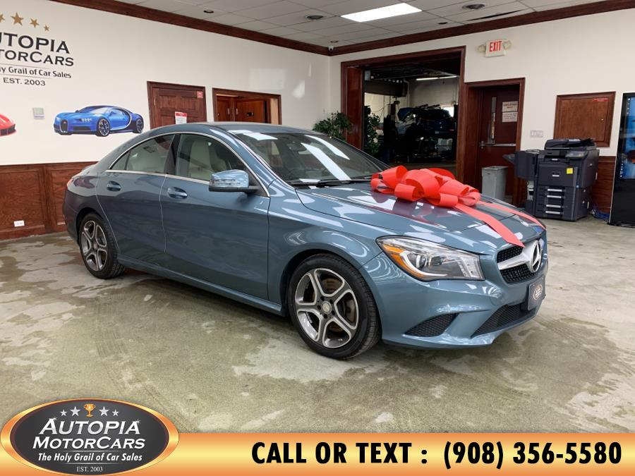 2014 Mercedes-Benz CLA-Class 4dr Sdn CLA250 FWD, available for sale in Union, New Jersey | Autopia Motorcars Inc. Union, New Jersey