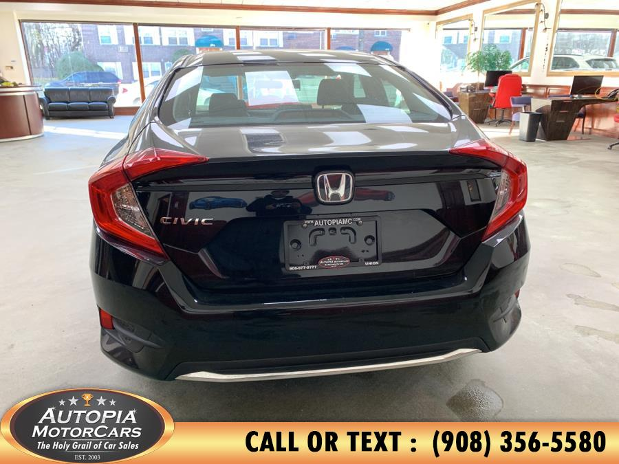 2019 Honda Civic Sedan LX CVT, available for sale in Union, New Jersey | Autopia Motorcars Inc. Union, New Jersey