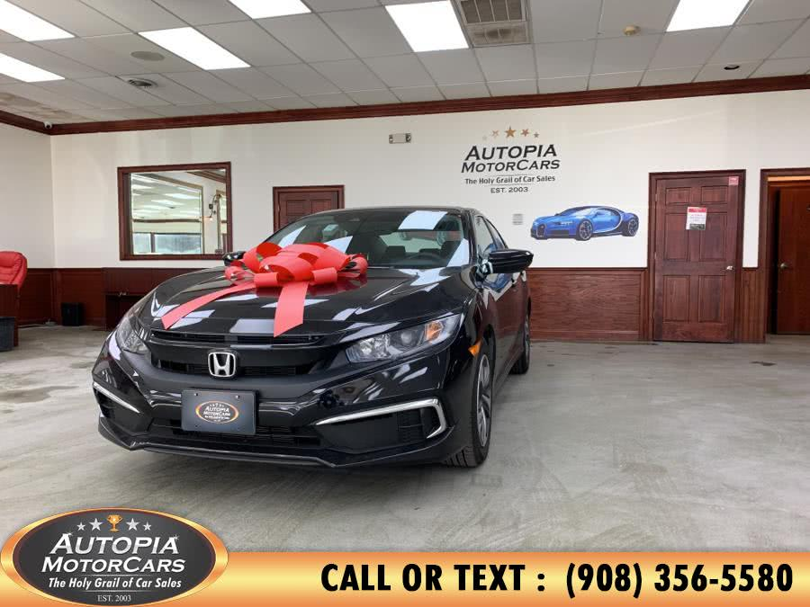 Used 2019 Honda Civic Sedan in Union, New Jersey | Autopia Motorcars Inc. Union, New Jersey