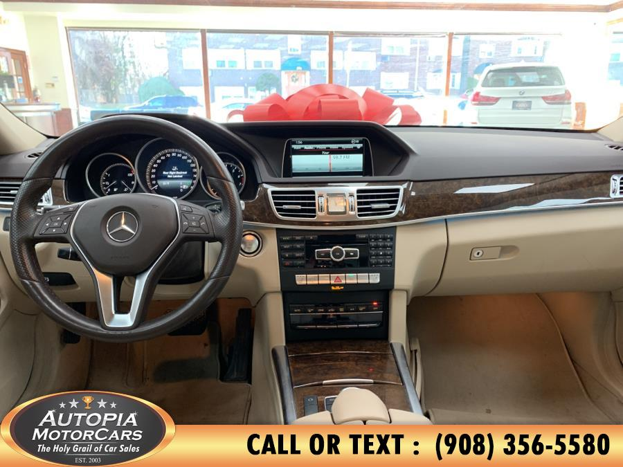 Used Mercedes-Benz E-Class 4dr Sdn E350 Luxury 4MATIC 2015 | Autopia Motorcars Inc. Union, New Jersey