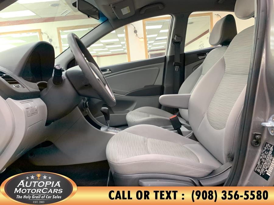Used Hyundai Accent SE Sedan Auto 2017 | Autopia Motorcars Inc. Union, New Jersey