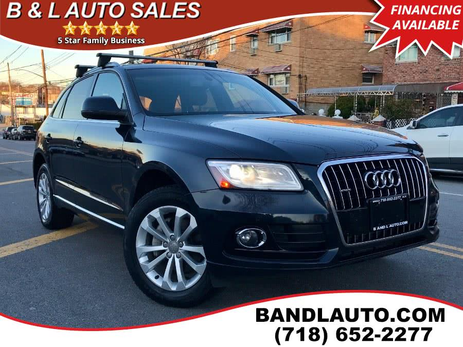 Used 2014 Audi Q5 in Bronx, New York | B & L Auto Sales LLC. Bronx, New York