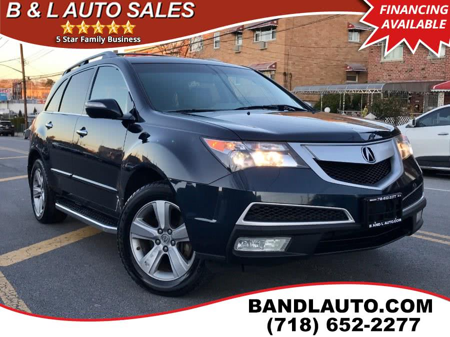 Used 2011 Acura MDX in Bronx, New York | B & L Auto Sales LLC. Bronx, New York