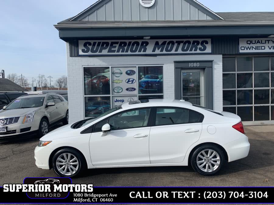 Used 2012 Honda Civic Sdn EX-L in Milford, Connecticut | Superior Motors LLC. Milford, Connecticut