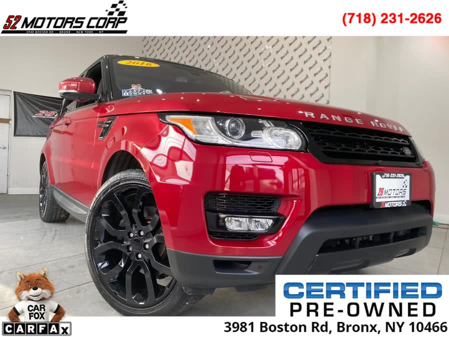 Used Land Rover Range Rover Sport 4WD 4dr V6 HSE 2016   52Motors Corp. Woodside, New York